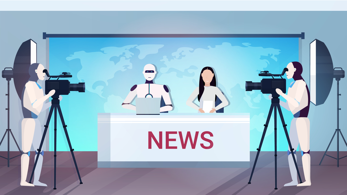 Robots replacing journalists in major news outlets.