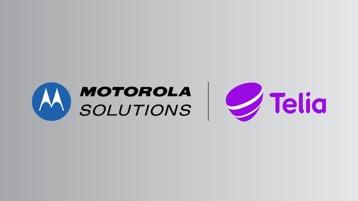 Telia signs contract with Motorola Solutions to provide customers with MCPTT