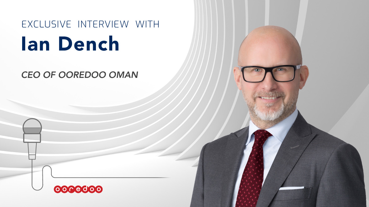 Ian Dench, CEO of Ooredoo Oman