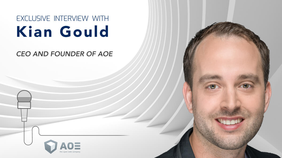Kian Gould, CEO and Founder of AOE