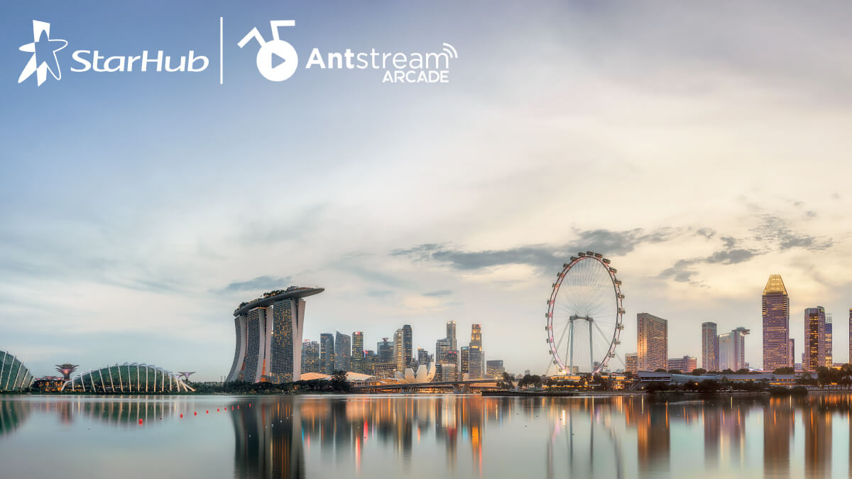 StarHub and Antstream Arcade enter exclusive partnership for Singapore customers