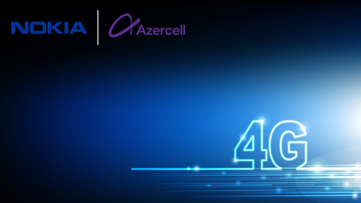 Azercell's 4G footprint expansion made possible with Nokia