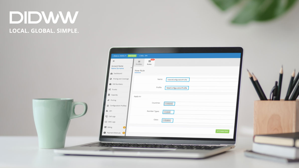 DIDWW-launches-innovative-Configuration-Profile-Rules