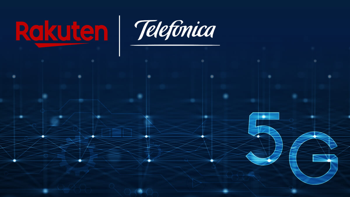 Telefónica and Rakuten sign an MOU aiming to deploy an Open RAN system