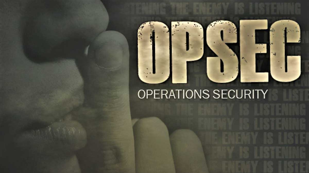 OPSEC during COVID-19