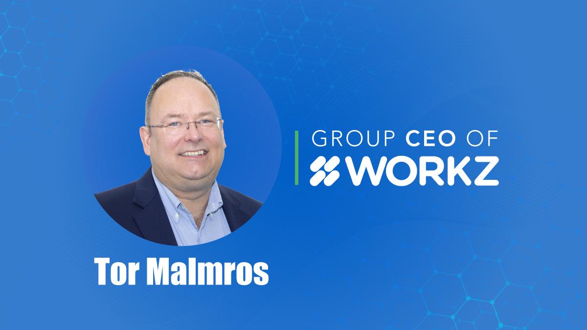 Tor Malmros, Workz Group CEO