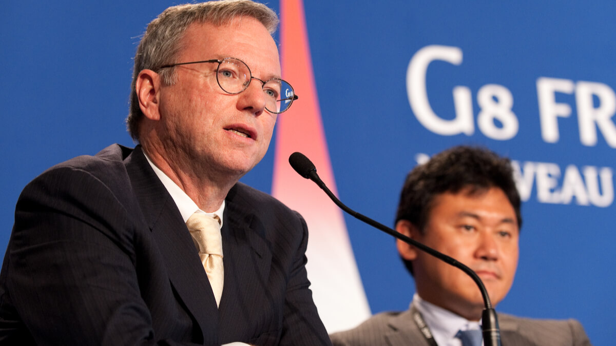 Former Google CEO gives $150M for research in biology, AI