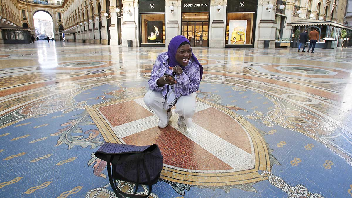 Italy: Teen in hijab aims to be 'Afro-influencer' on TikTok