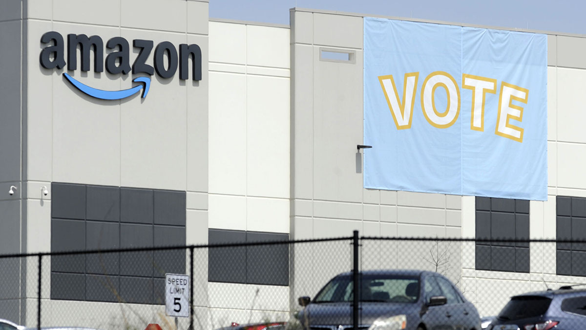 'Lighting a fuse' Amazon vote may spark more union pushes