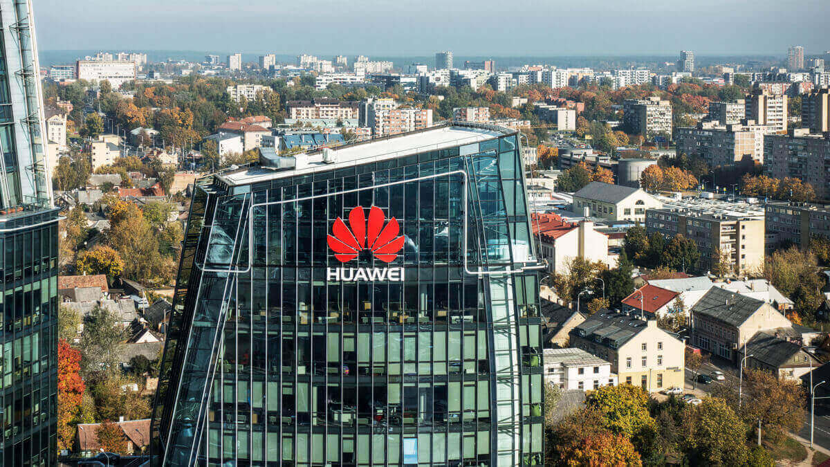 Huawei says sales down