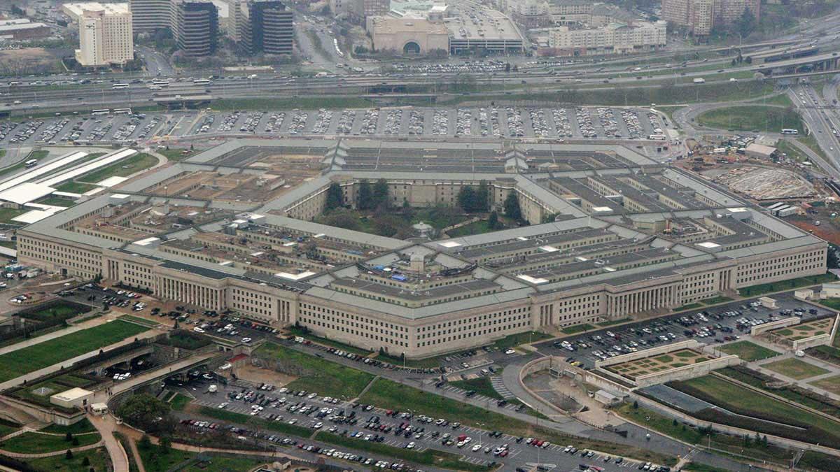 Pentagon internet mystery