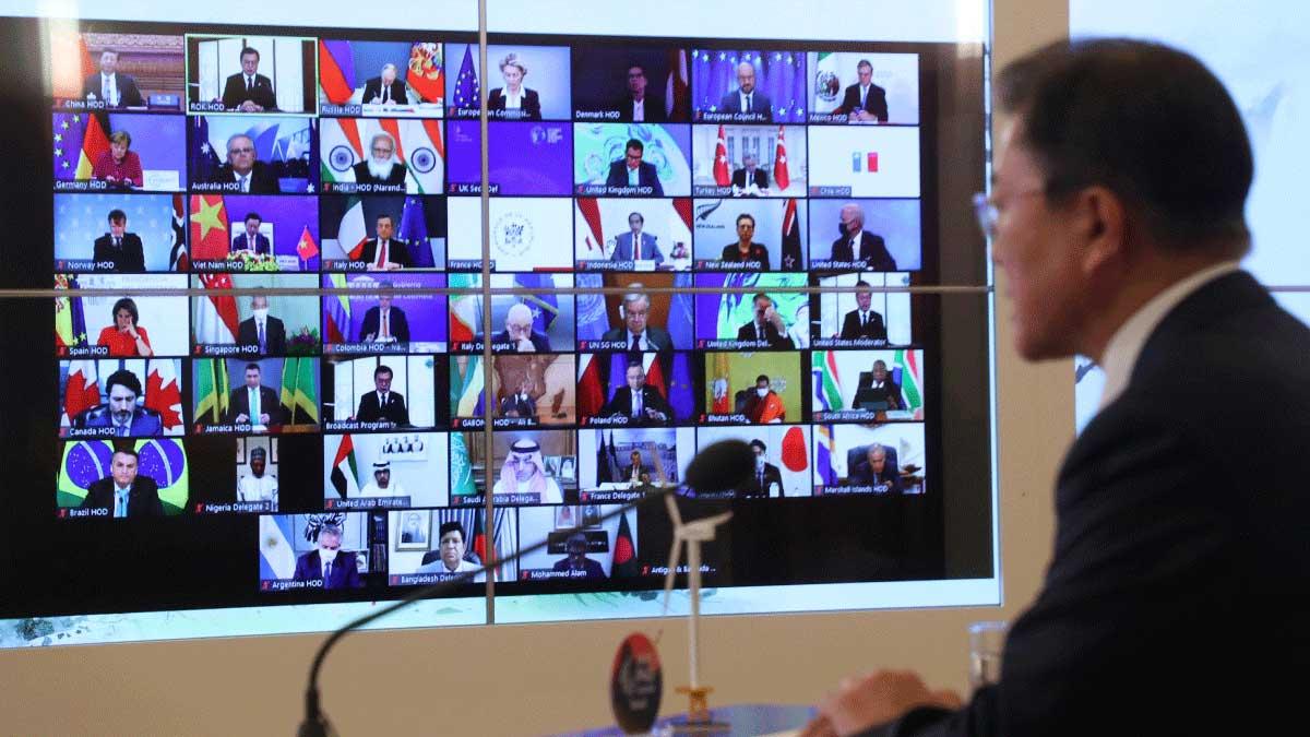 Unmute, please Echoes, glitches resound in virtual summit