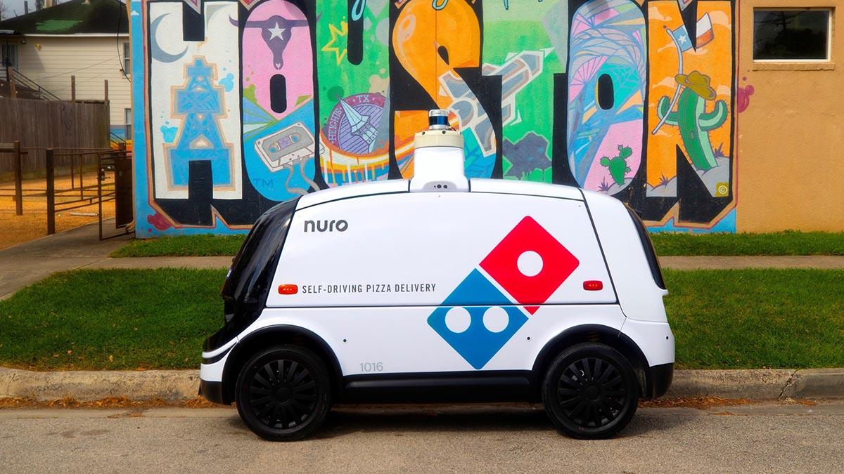 autonomous pizza delivery