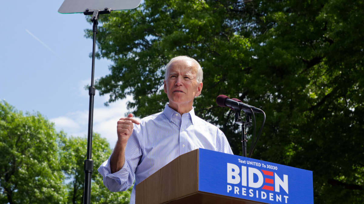Biden pushes for diversity in transition to clean energy