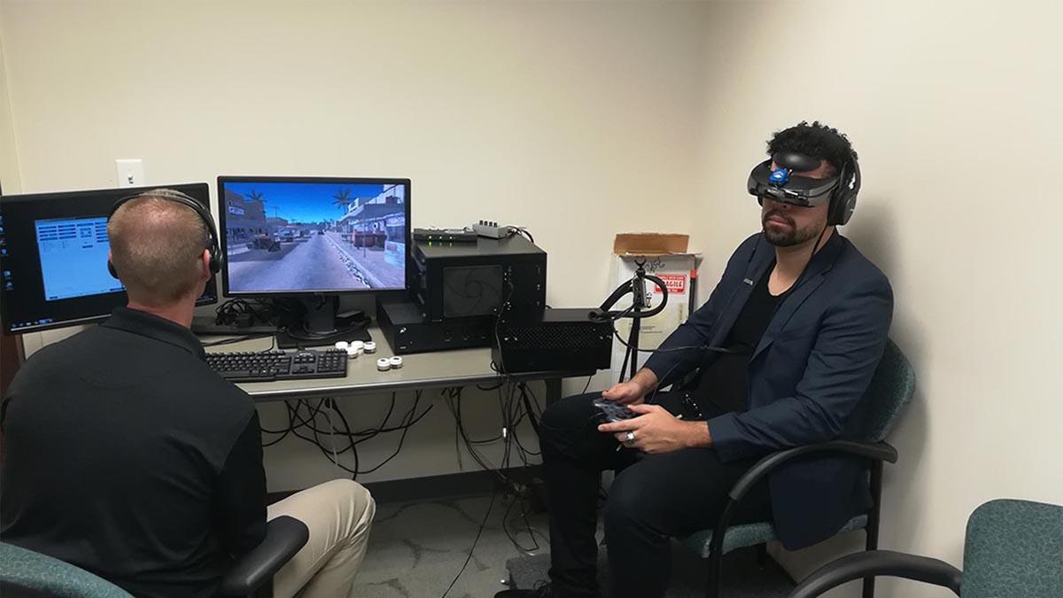 VR treatment tool