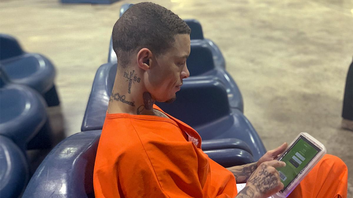Oklahoma Inmates Computer Tablets