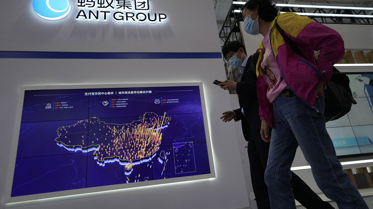 China's Ant Group to share credit data with central bank